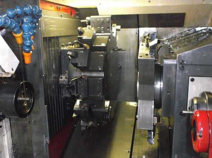 ターレット複合機による多ツール使用精密加工