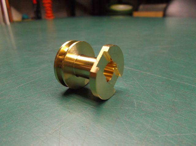 黄銅合金HB-71クロス複合機内一貫加工